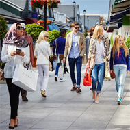 Shopping Day Experience at Kildare Village (Dublin Airport departure)